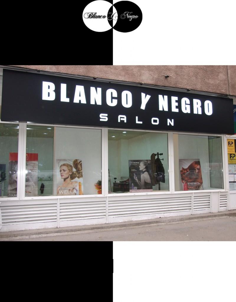 Blanco Y Negro Drumul Taberei Beauty Saloane